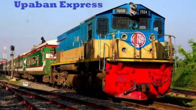 Upaban Express train