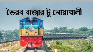 Bhairab Bazar To Noakhali Train Schedule