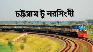 Chittagong To Narsingdi Train
